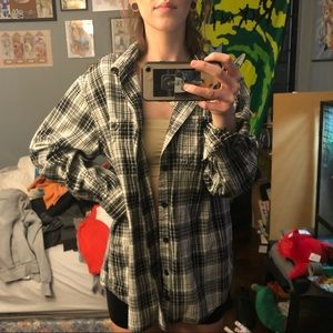 B/W Flannel